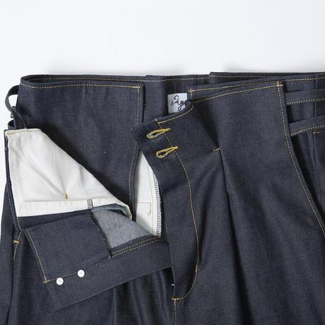 【 Aquvii Jeans 】aq522 / MORIZ ( CONTROL HIGHWAIST PANTS ) / INDIGO