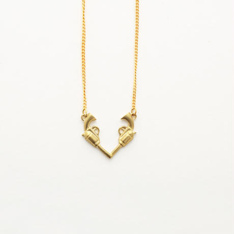 Gunheart necklace
