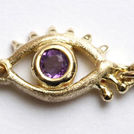 【Aquvii JEWEL】Eye stone necklace