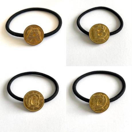 Initial coin  series (hair ring)