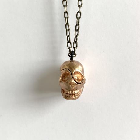 Skull parts necklace