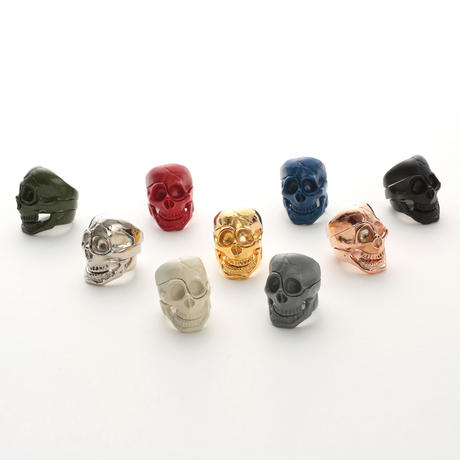 Skull parts ring #11 (Painted)