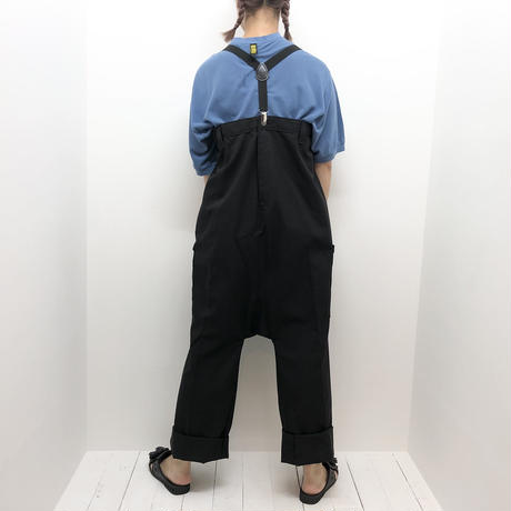 【 TAG DOSE NOT MAKE YOU 】SUPENDER pants (DEAD STOCK Dickies)