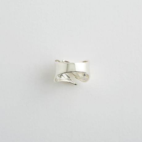 Smooth Curve Ring / Silver