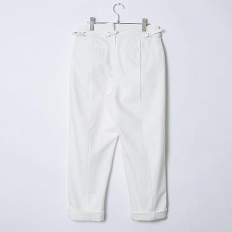 【 Aquvii Jeans 】aq521_BELLA ( CONTROL TACK PANTS ) / WHITE