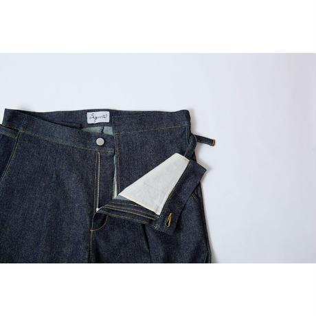 【 Aquvii Jeans 】aq501 / ABBY ( CONTROL PANTS ) / INDIGO