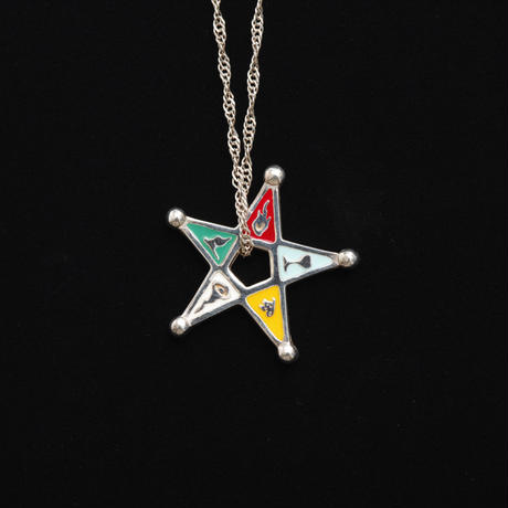 【Aquvii JEWEL】jobjob PENTAcles Necklace