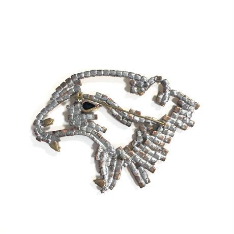 Lilien / Cheetah brooch