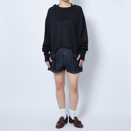 【 Aquvii Wardrobe 】aq21aw02_BOTH GARTER LONG SLEEVE