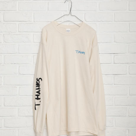 【TAG DOES NOT MAKE YOU】T.HANKS backprint long T