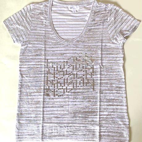 KNOCKKNOCK/ 銀箔Tシャツ