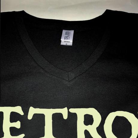 JETROX   VネックTシャツ(男女兼用)Sサイズのみ