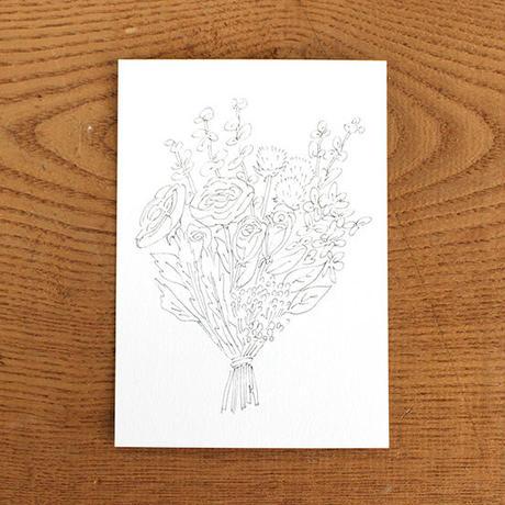 mumokuteki / 大人の塗り絵ポストカード