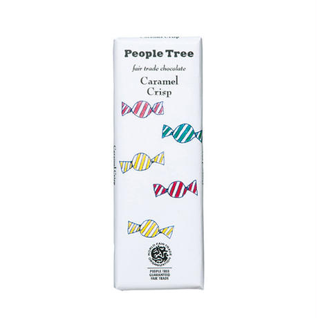 People Tree / フェアトレードチョコ・板チョコ カラメルクリスプ