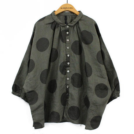 HEAVENLY / リネンドルマンドットシャツ