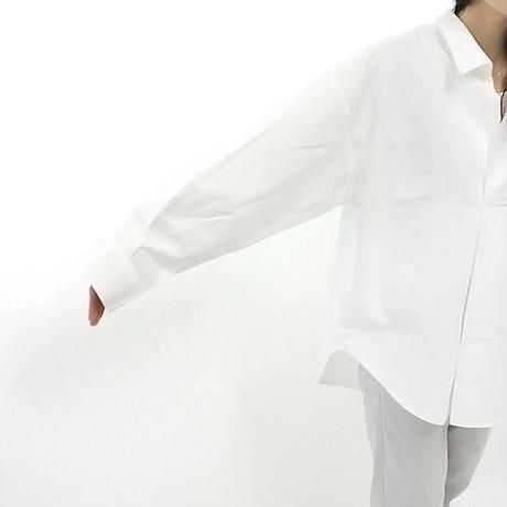 mumokuteki select / スキッパーシャツチュニック