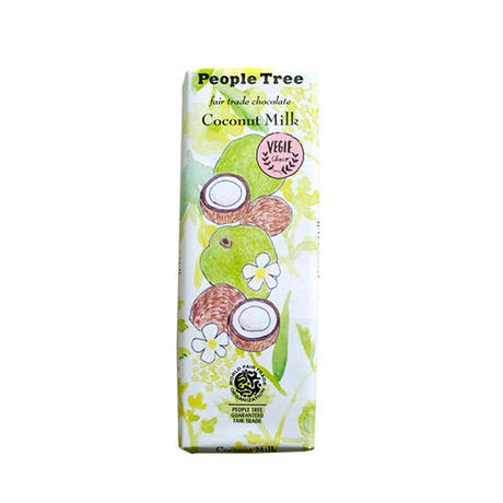 People Tree / フェアトレードチョコ・板チョコ ココナッツミルク