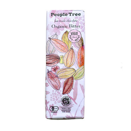 People Tree / フェアトレードチョコ・板チョコ オーガニック・ビター