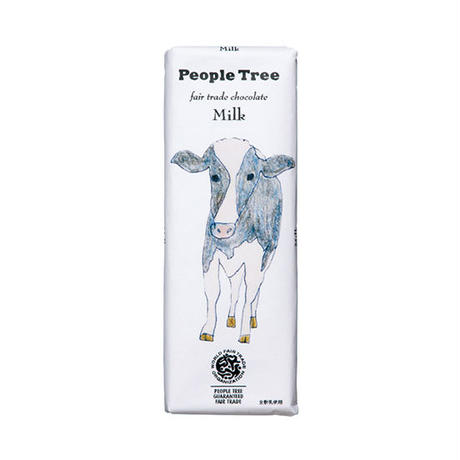 People Tree / フェアトレードチョコ・板チョコ ミルク