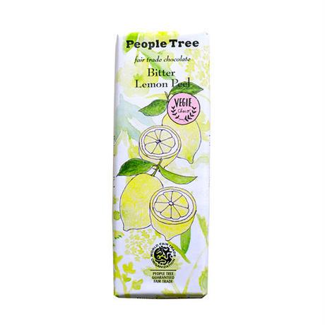 People Tree / フェアトレードチョコ・板チョコ ビター・レモンピール