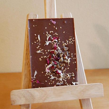 CHOC'FLEURS / 花チョコレート スペキュロス&バナナ