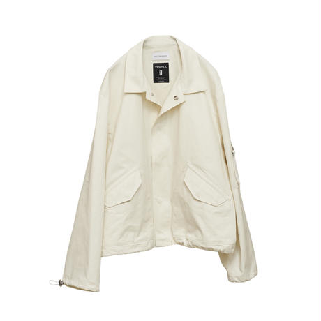 【在庫販売】VENTILE FLIGHT JACKET (IVORY)