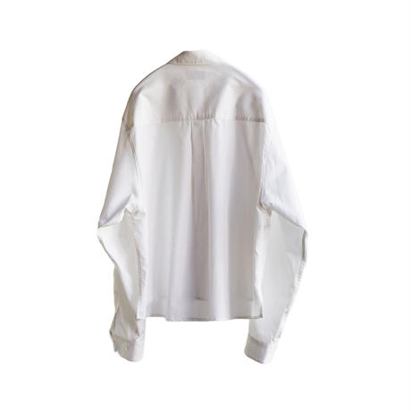 STYLING SHORT WIDE SHIRT(WHITE)