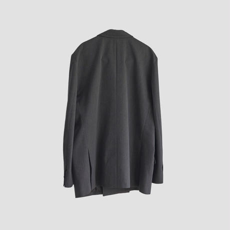 4B DOUBLE BREASTED JACKET(GRAY)