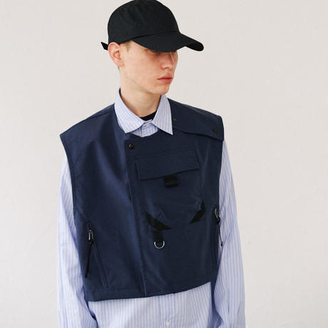 3LAYER TACTICAL VEST(DARK BLUE)