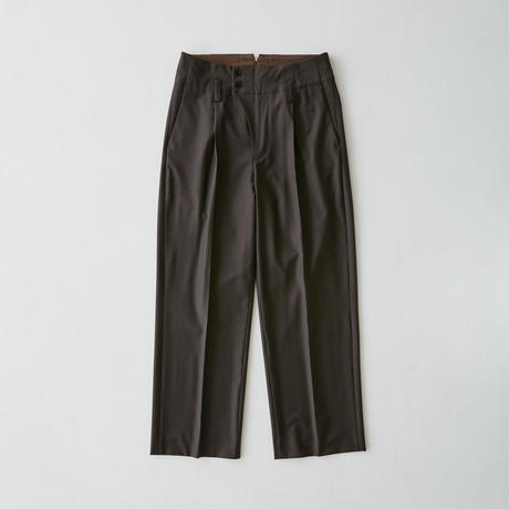 Straight Trousers(Brown)
