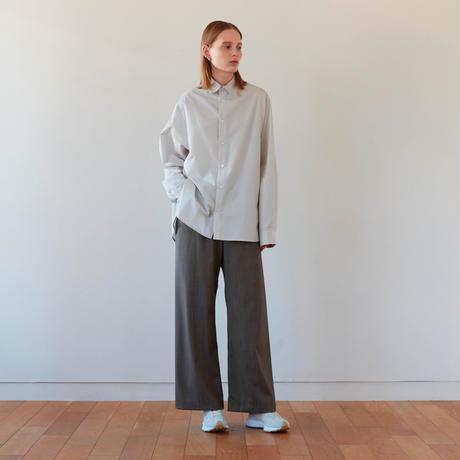 STYLING LONG SLIT SHIRT NEW(L. GRAY)