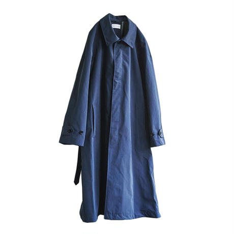3LAYER OVERSIZED BALMACAAN COAT(DARK BLUE)