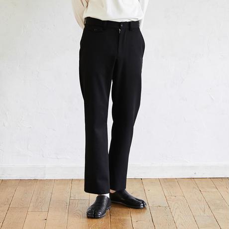 Straight Slacks(Black)