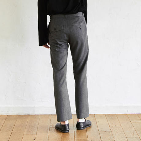 Straight Slacks(Gray)