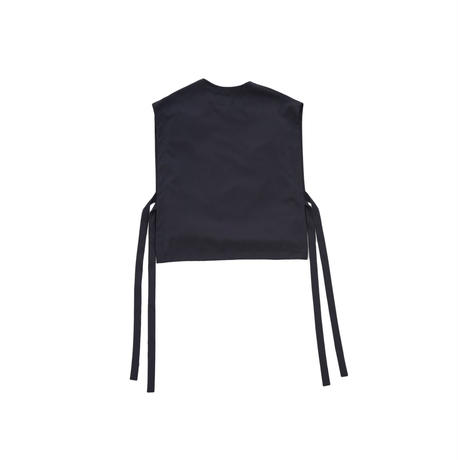 WOOL PULLOVER VEST(DARK NAVY )