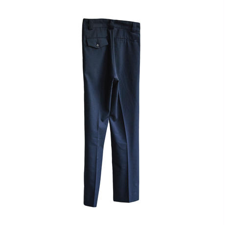 STRAIGHT TROUSERS (ASH NAVY)