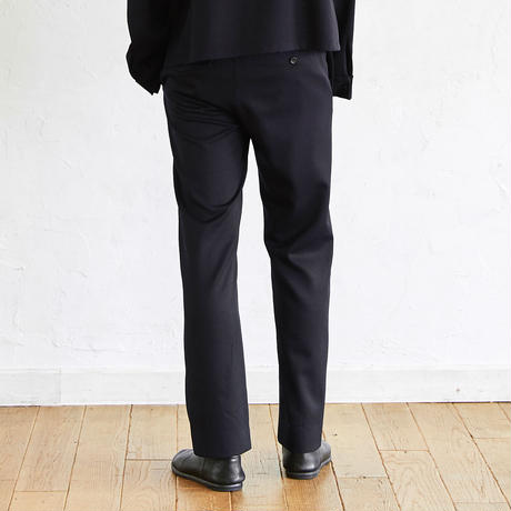 Straight Slacks(Navy)