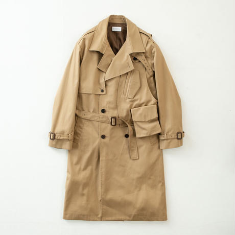 3way holster chest bag trench coat