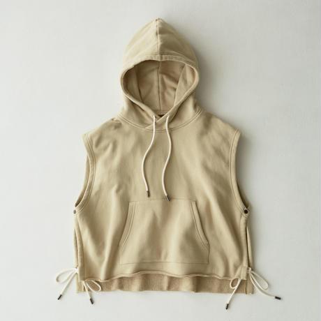 Vest Hoodie(Beige)