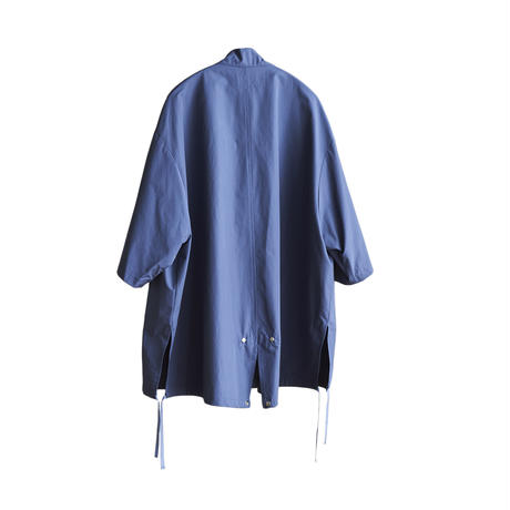 【在庫販売】SHORT SLEEVE MILITARY SHIRT(BLUE)