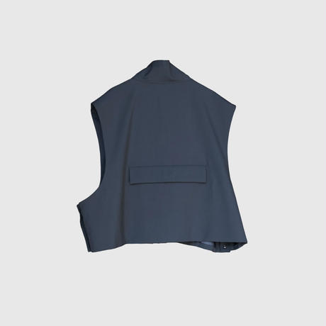 【2.24(wed)20:00‐PRE-ORDER】STAND COLLAR ACTIVE VEST(NAVY)