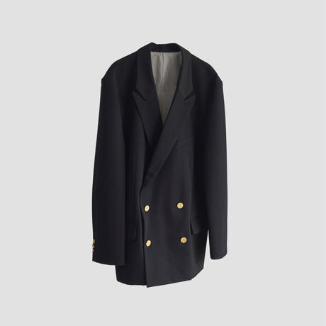 4B DOUBLE BREASTED JACKET(NAVY)