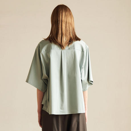 【在庫販売】CUPRA COTTON H/S SHORT SHIRT(MINT)