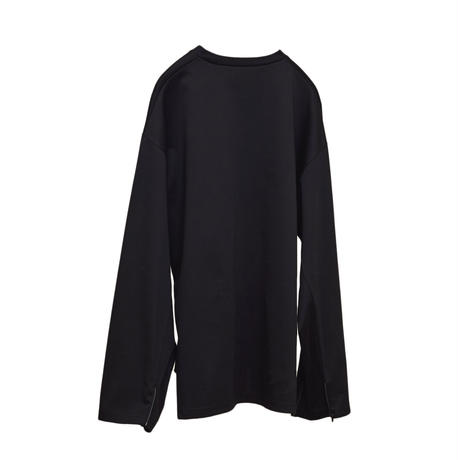【在庫販売】CHANGE SLEEVE  TEE (BLACK)