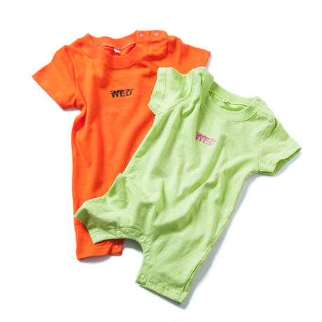 BEDDY BYE RONPERS (ORANGE/LIGHT GREEN)