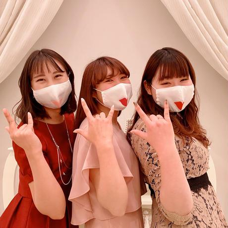 【ウェディングマスク】リップ/ベビーピンク