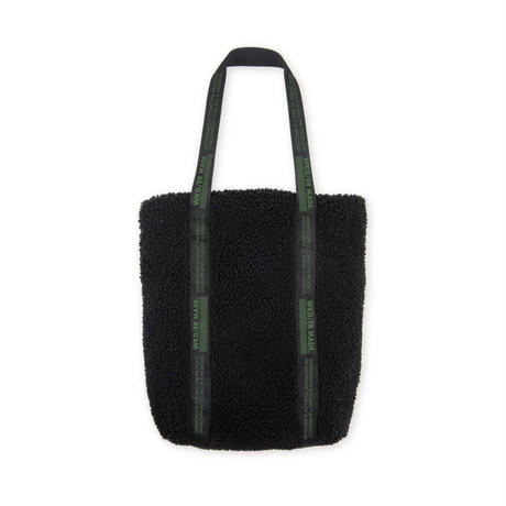 79422 / Retro Fleece Sherpa tote bag