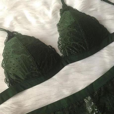 選べるSsizeM size パッド付き green set  up  【A-0023-GR】