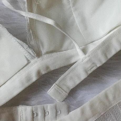 選べるSsize・Msize パッド付き white set  up  【A-0023-WH】