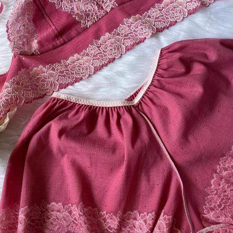 pink set  up  【T-0044】